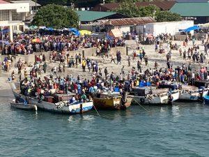 Dar es Salaam Tanzania fish market