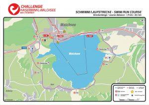 Challenge Walchsee swim route