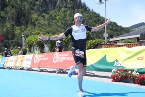 Challenge Walchsee 2021 - Last meters before the finish line