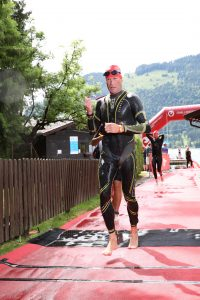 Challenge Walchsee 2021 - completed the swim part