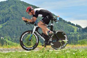 Challenge Walchsee 2021 - hammering on the bike