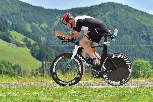 Challenge Walchsee 2021 - beautiful scenery on the bike track