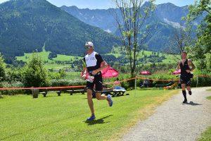 Challenge Walchsee 2021 - run around the lake in the heat