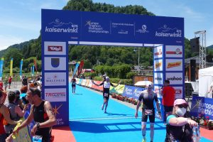 Challenge Walchsee 2021 - the finish line