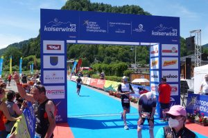 Challenge Walchsee 2021 - great time of the middle distance triathlon
