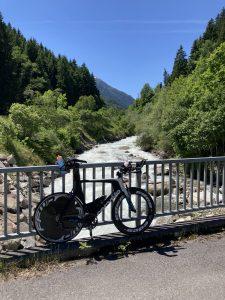 Challenge Walchsee bike training around Innsbruck - hill climbs to Sellrain