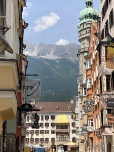 Innsbruck Old City with the Golden Roof