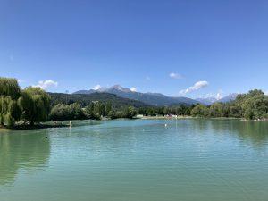 Baggersee Innsbruck for Challenge Walchsee swim training