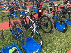 Challenge Walchsee triathlon - Bike check in
