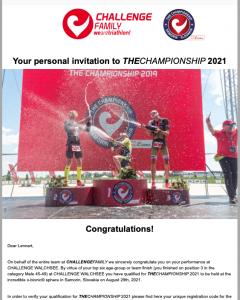 TheChampionship invitation 2021