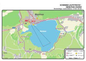 Challenge Walchsee 2021 - new swim course
