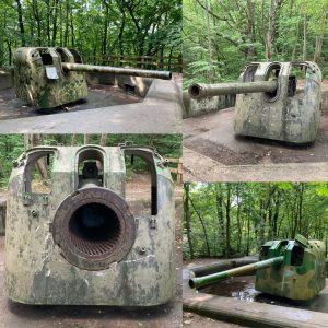 WWII Artillery in the Kępa Redłowska forest Gdynia