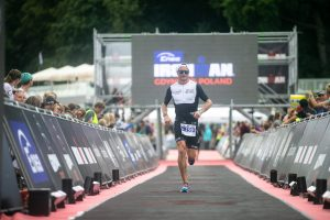 Ironman 70.3 Gdynia - last meters to the finish line