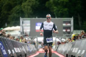 Ironman 70.3 Gdynia - very last meters to the finish line