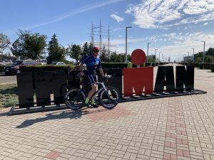 Ironman has arrived for the Ironman 70.3 Gdynia