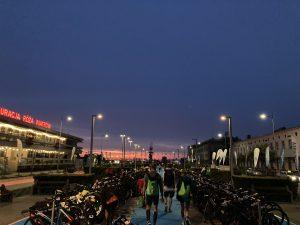 Ironman 70.3 Gdynia - race morning! Still dry...