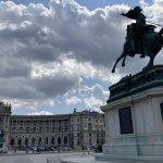 The Hofburg in Vienna Austria