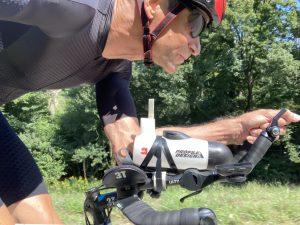 Endurance ride along the river Donau in Austria