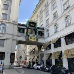 Vienna Austria - Anker Clock with fanfare on the hour