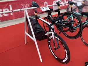 Challenge The Championship - bike check in
