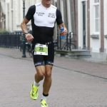 Ironman 70.3 West-Friesland - fighting during the run...
