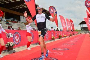 Challenge The Championship triathlon - last meters to the finish
