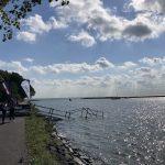 Ironman 70.3 Westfriesland - Swim exit