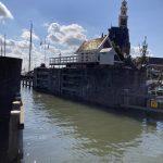 Ironman 70.3 Westfriesland - Hoorn view of the lock