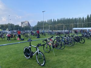 Ironman 70.3 Westfriesland - bike check-in