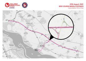 Challenge The Championship triathlon - bike course